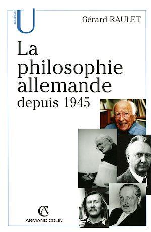 Téléchargez le livre :  La philosophie allemande depuis 1945