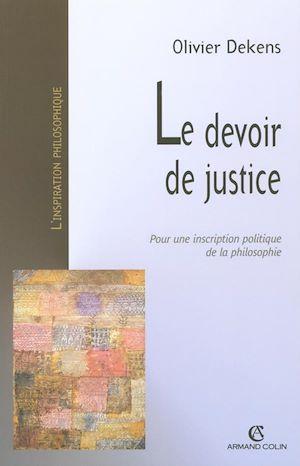 Téléchargez le livre :  Le devoir de justice