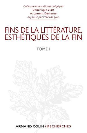 Téléchargez le livre :  Fins de la littérature, esthétiques de la fin