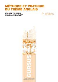 Télécharger le livre : Méthode et pratique du thème anglais