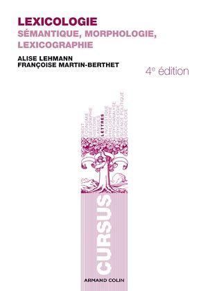 Téléchargez le livre :  Lexicologie