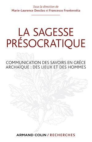 Téléchargez le livre :  La sagesse présocratique