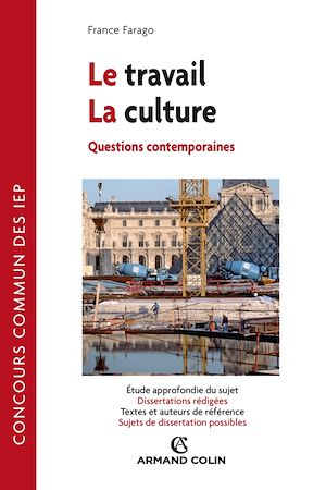 Téléchargez le livre :  Le travail - La Culture