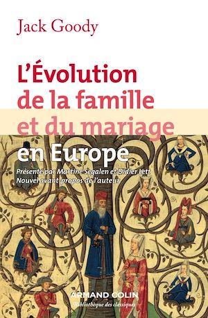 Téléchargez le livre :  L'évolution de la famille et du mariage en Europe