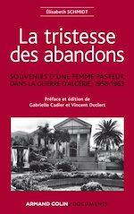 Télécharger le livre :  La tristesse des abandons - Élisabeth Schmidt