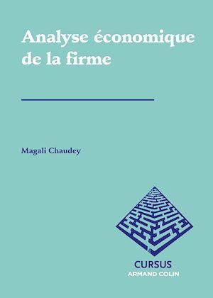 Téléchargez le livre :  Analyse économique de la firme