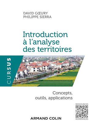 Téléchargez le livre :  Introduction à l'analyse des territoires
