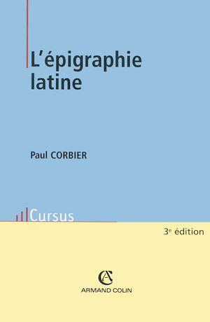 Téléchargez le livre :  L'épigraphie latine