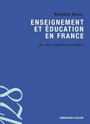 Téléchargez le livre :  Enseignement et éducation en France