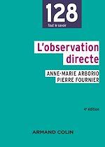 Télécharger le livre :  L'observation directe - 4e éd.