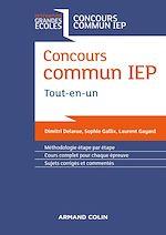 Télécharger le livre :  Concours commun IEP