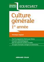 Télécharger le livre :  Culture générale 1re année ECE/ECS/ECT