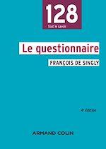 Télécharger le livre :  Le questionnaire - 4e édition
