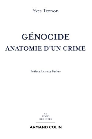 Téléchargez le livre :  Génocide