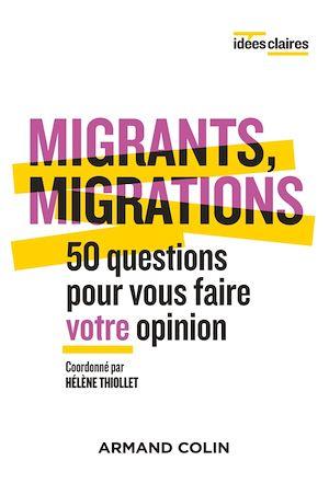 Téléchargez le livre :  Migrants, migrations