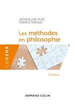 Télécharger le livre :  Les méthodes en philosophie - 3e éd.