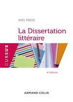 Télécharger cet ebook : La dissertation littéraire - 4e éd.