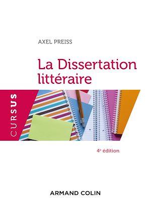 Téléchargez le livre :  La dissertation littéraire - 4e éd.