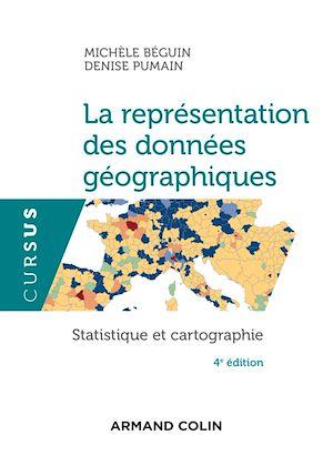 Téléchargez le livre :  La représentation des données géographiques - 4e éd.