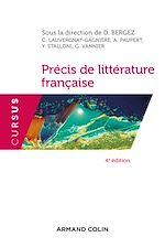 Télécharger le livre :  Précis de littérature française - 4e éd.