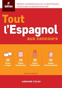 Tout l'espagnol aux concours - 4e ed.