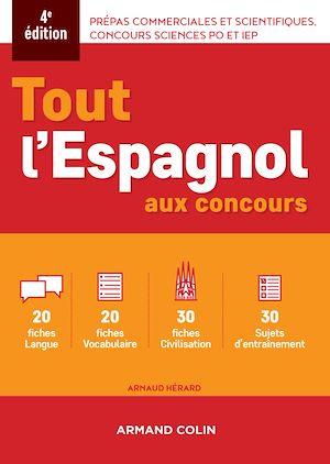 Téléchargez le livre :  Tout l'espagnol aux concours - 4e ed.