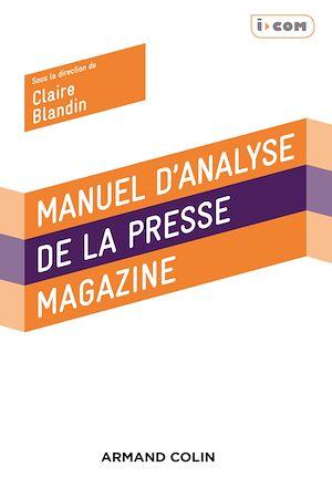Téléchargez le livre :  Manuel d'analyse de la presse magazine