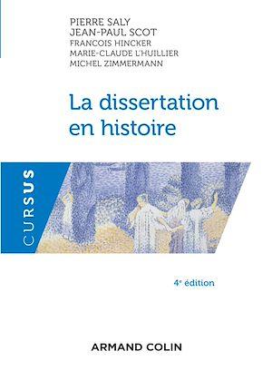 Téléchargez le livre :  La dissertation en histoire