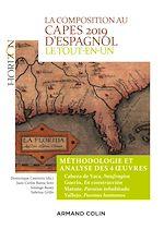 Télécharger le livre :  La composition au CAPES 2019 d'espagnol - Le tout-en-un