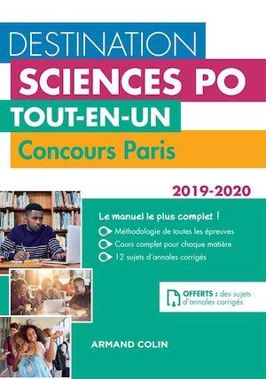 Téléchargez le livre :  Destination Sciences Po - Tout-en-un - Concours Paris 2019-2020