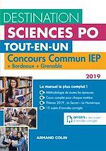 Télécharger le livre :  Destination Sciences Po - Concours commun IEP 2019 + Bordeaux + Grenoble
