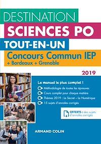 Destination Sciences Po - Concours commun IEP 2019 + Bordeaux + Grenoble