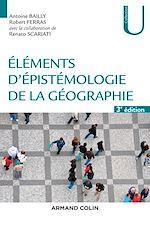 Télécharger le livre :  Eléments d'épistémologie de la géographie - 3e éd.