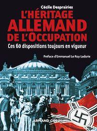Télécharger le livre : L'Héritage allemand de l'Occupation
