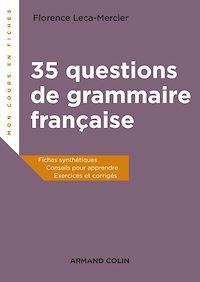 35 questions de grammaire française