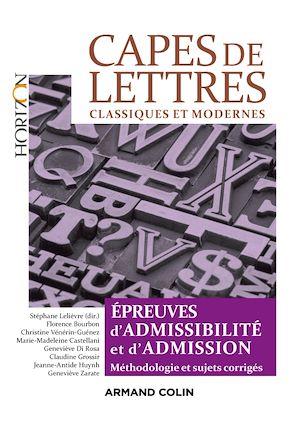Téléchargez le livre :  CAPES de Lettres - 3éd.