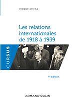 Télécharger le livre :  Les relations internationales de 1918 à 1939