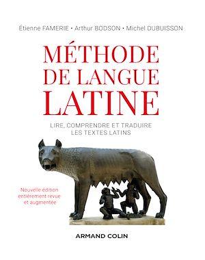 Téléchargez le livre :  Méthode de langue latine - 2e éd.