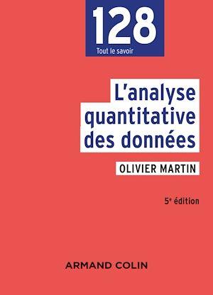 Téléchargez le livre :  L'analyse quantitative des données - 5e éd.