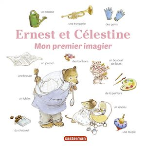 Téléchargez le livre :  Les imagiers d'Ernest et Célestine - Mon premier imagier Ernest et Célestine