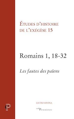 Téléchargez le livre :  Romains 1, 18-32 - Les fautes des païens