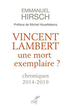 Téléchargez le livre :  Vincent Lambert, une mort exemplaire ? - Chroniques 2014-2019