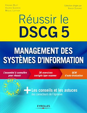 Téléchargez le livre :  Réussir le DSCG 5 - Management des systèmes d'information