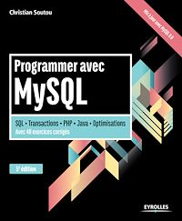 Télécharger le livre : Programmer avec MySQL