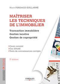 Télécharger le livre : Maîtriser les techniques de l'immobilier