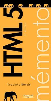 Télécharger le livre : Mémento HTML 5