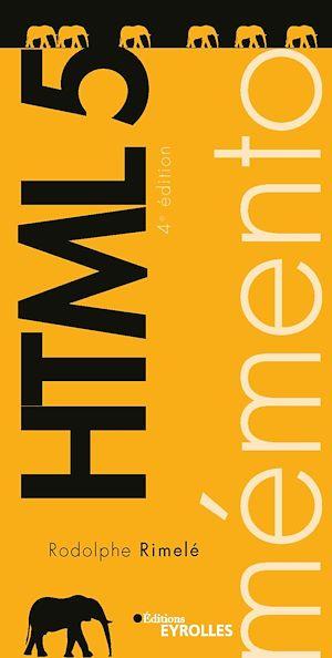 Téléchargez le livre :  Mémento HTML 5