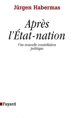 Téléchargez le livre :  Après l'Etat-nation