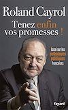 Téléchargez le livre numérique:  TENEZ ENFIN VOS PROMESSES !