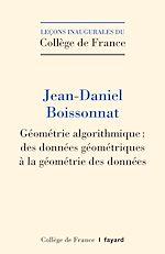 Télécharger le livre :  Géométrie algorithmique
